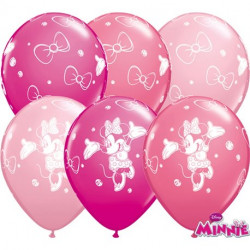 """11""""28 cm Minnie Mouse Special mix latex balona"""