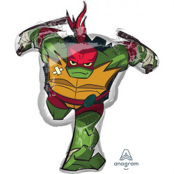 Super Shape Rise Of TMNT Raphael folija balon