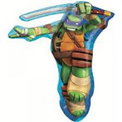 Super Shape TMNT Leonardo folija balon