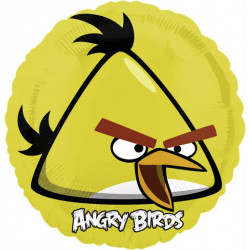 "18""46cm Angry Birds Yellow Bird helijumski balon"