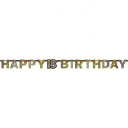 18 Sparkling Celebration Gold  baner