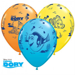 "11""28cm Finding Dory latex baloni"