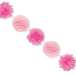 Ballet Paper Fluffy Decoration Garlands