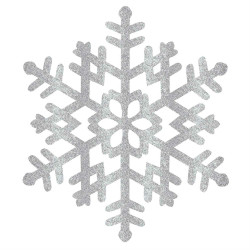 Hanging Decoration Large Snowflake Christmas