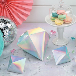 Shimmering Party Iridescent Table Decorations