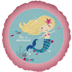 "18""43cm Standard ""Be a Mermaid""  folija balon"