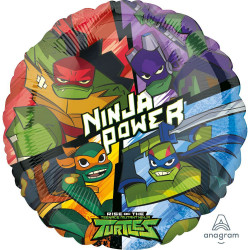 "18""43cm Standard Rise Of The TMNT Folija balon"