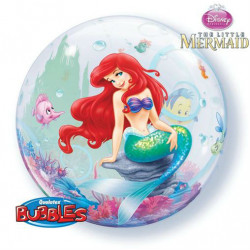"22""56cm The Little Mermaid bubble balon"