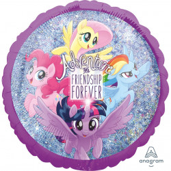"18""43cm Standard Holographic MLP Friendship Adventure folija balon"