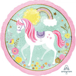 "18""46cm Standard ""Magical Unicorn""  folija balon"