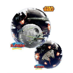 "24""61cm Double star Wars Death Star bubble balon"