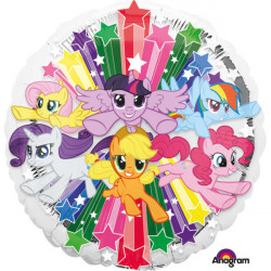 "18""46cm Standard ""My Little Pony Gang"" folija balon"