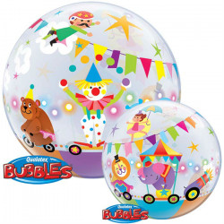 "22"" 58cm Circus Parade bubble balon"