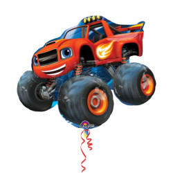 "SuperShape ""Blaze and the Monster Machines"" folija balon"