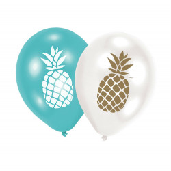 "11""28cm  Pineapple Vibes latex baloni"