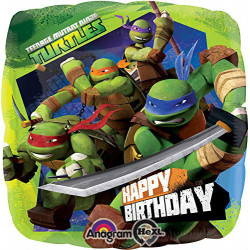 "18""43cmStandard Teenage Mutant Ninja Turtles folija balon"