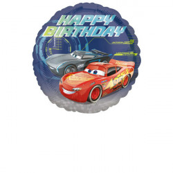 "Standard ""Cars - Happy Birthday"" Folija balon"