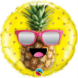 "18""43cm  Mr Cool Pineapple folija balon"